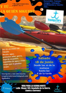 cartel canoas youngstars junio 2016